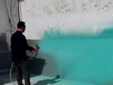 七彩贝壳香港集团有限公司玻璃鳞片新型环保材料喷涂