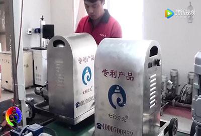七彩贝壳多功能喷涂机生产线(图文)